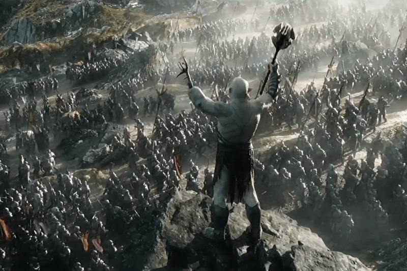 azog the hobbit battle five armies publicity still photo