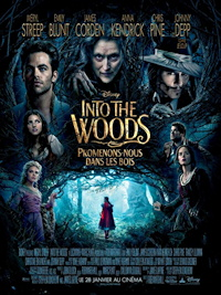 into the woods movie poster one sheet - french