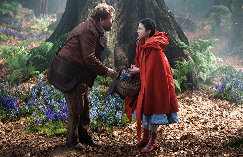 lilla crawford, james corden from into the woods movie