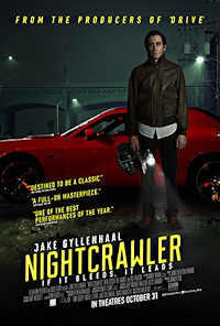 nightcrawler review one sheet poster