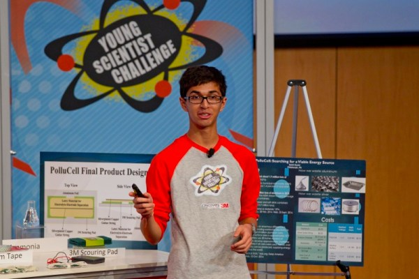 2014 Young Scientist Challenge winner Sahil Doshi