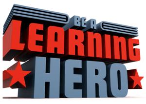 be a learning hero logo