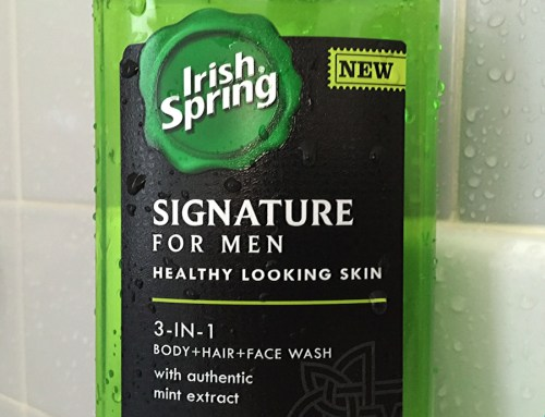 irish spring signature for men all in one body wash bottle