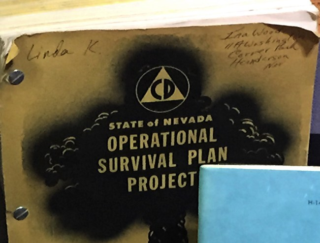state of nevada operational survival plan book