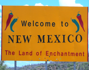 welcome to santa fe, land of enchantment