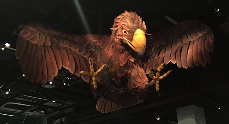 flying Roc. that's a big bird!