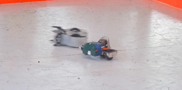 battling robot cars