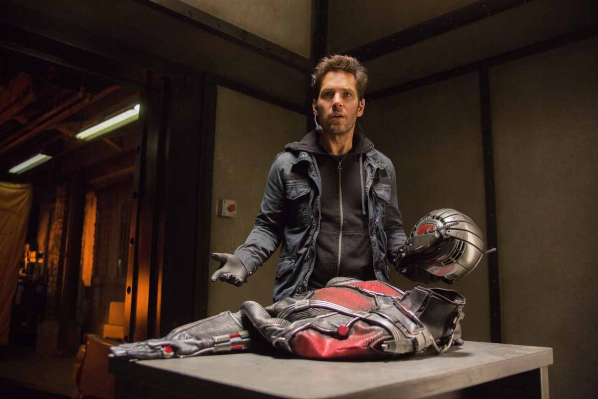paul rudd, ant-man publicity still photo