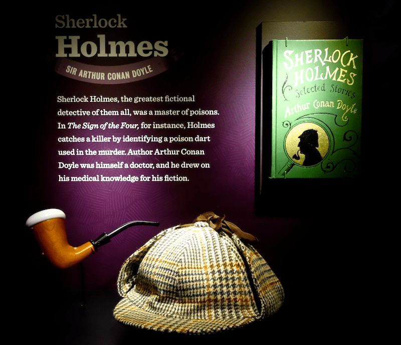 sherlock holmes exhibit at power of poison