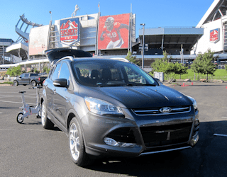 ford smart mobility tour, denver co, sports authority field at mile high