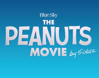the peanuts movie logo