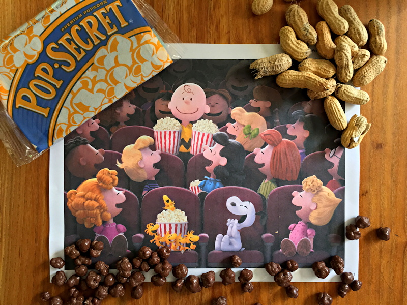peanuts movie promotional product tie-in campaign