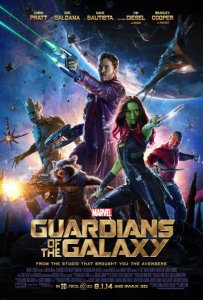 guardians of the galaxy movie poster one sheet