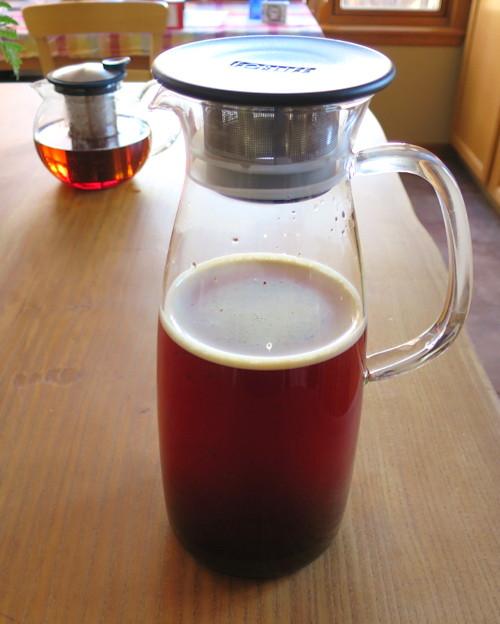 Mist Glass Ice Tea Jug
