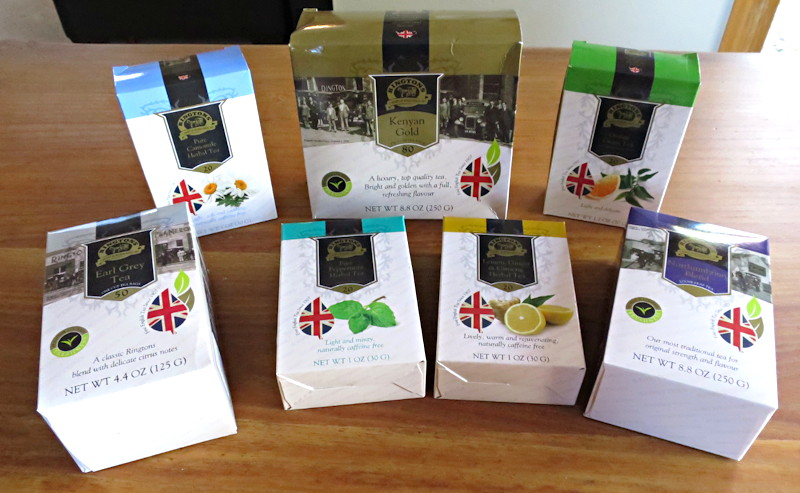 wide variety of rington's premium english teas