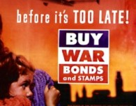 buy war bonds - history and used book stores