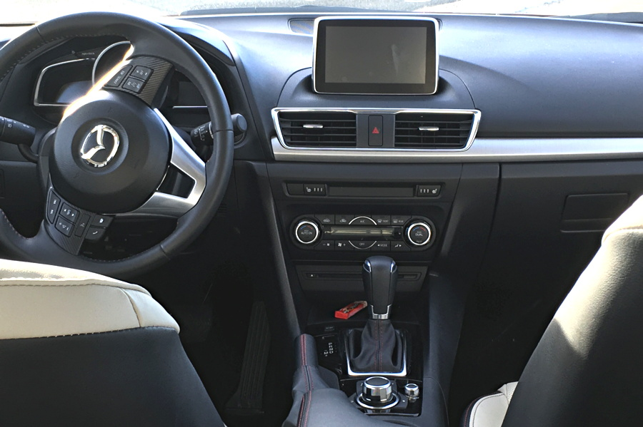 2016 mazda 3 sport gt interior dashboard