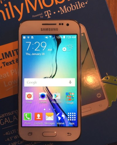 walmart family mobile plus - samsung galaxy core prime