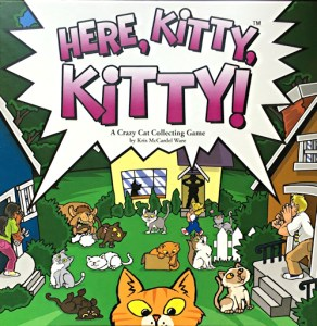 here kitty kitty board collecting game, fireside games