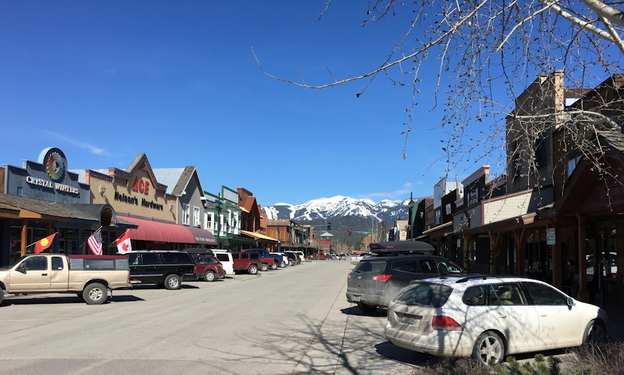 downtown whitefish, montana