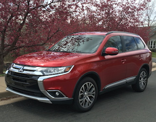 review test drive 2016 mitsubishi outlander compact suv cuv