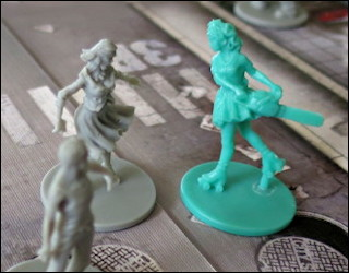 review of zombicide zombie killing board game miniatures