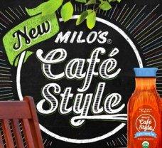 milo's cafe style logo - new
