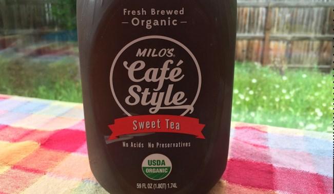 milo's cafe style sweet tea organic