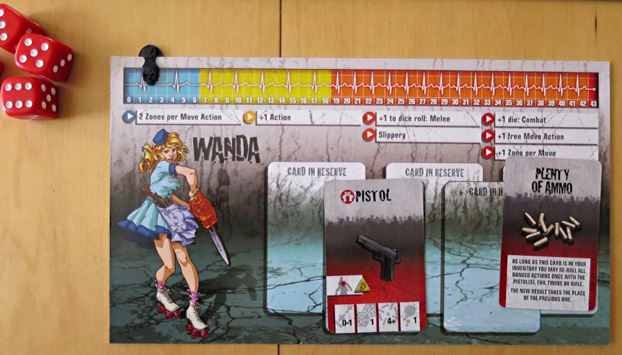 wanda, zombicide board game