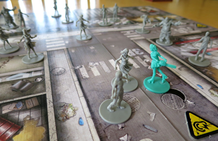 zombicide close-up miniature detail board game