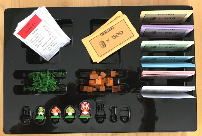 storage bin for super mario bros monopoly