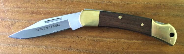 Winchester Brass Folder