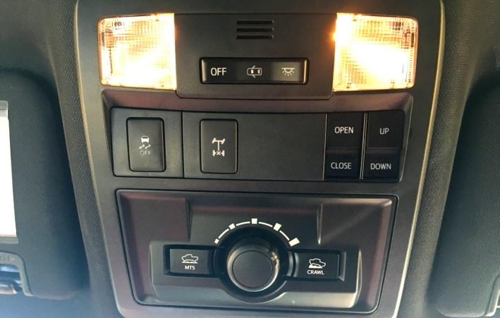 overhead controls, 2016 toyota tacoma