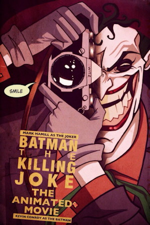 batman the killing joke movie poster one sheet