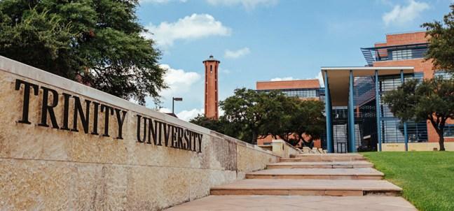 trinity university, exterior, san antonio tx