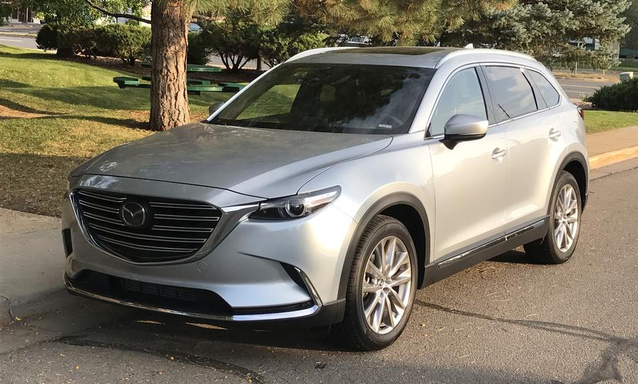 2016 mazda cx-9 silver exterior