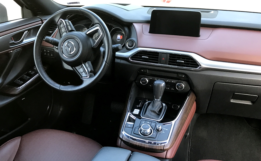 2016 mazda cx-9 dashboard layout