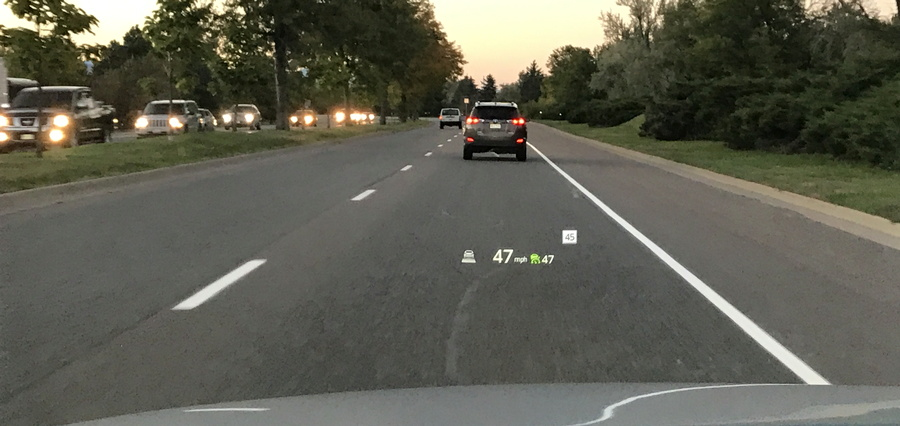 heads up display 2016 mazda cx-9