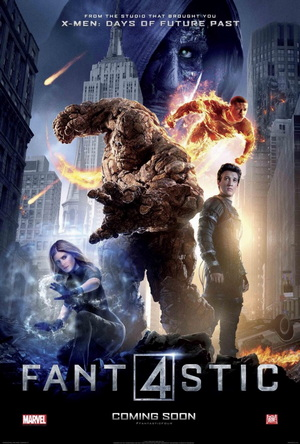 fantastic four (2015) movie poster one sheet