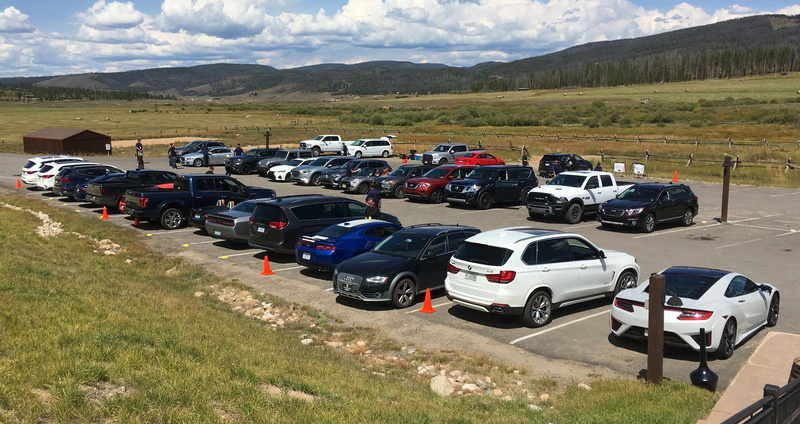 rmde 2016 rocky mountain driving experience, devil's thumb lodge, colorado