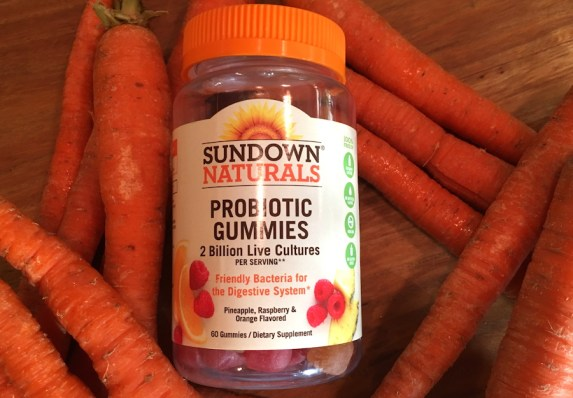 sundown naturals probiotic with carrots