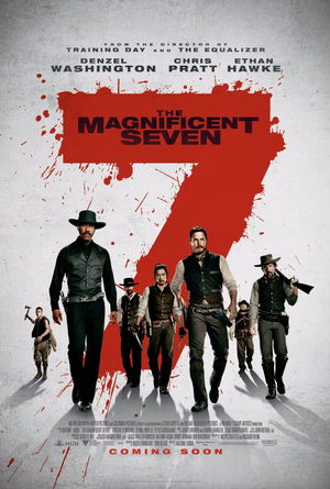 the magnificent seven 2016 movie poster one sheet