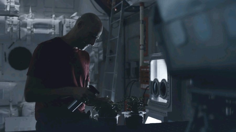 """Captain William Stanaforth (Mark Strong), from """"Approaching the Unknown"""""""