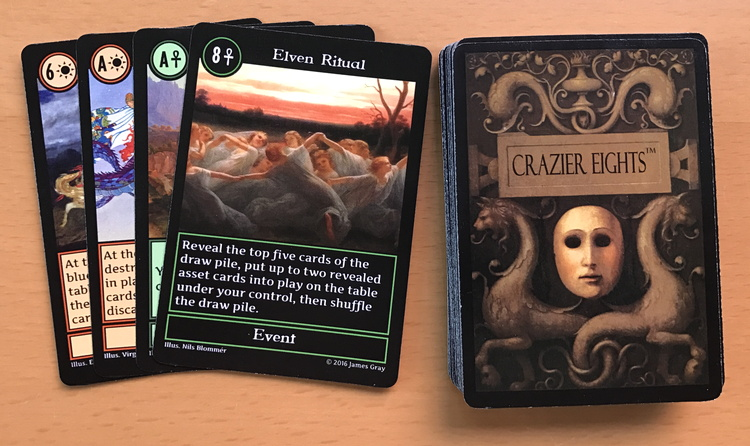 discards in crazier eights