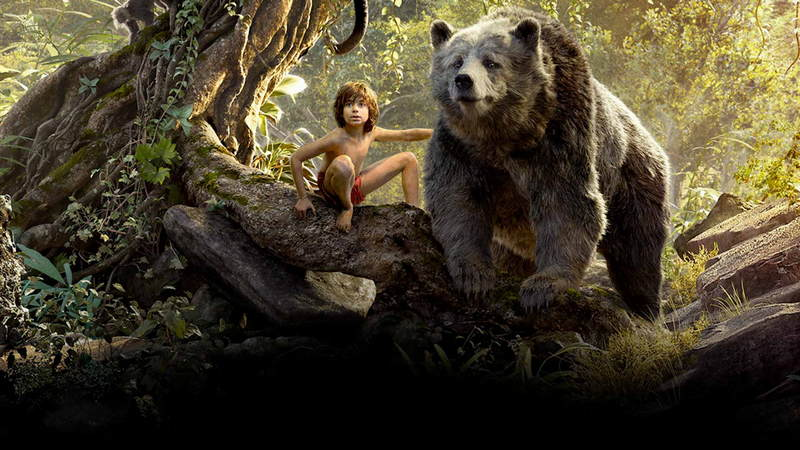 """Mowgli and Baloo, from """"The Jungle Book"""""""