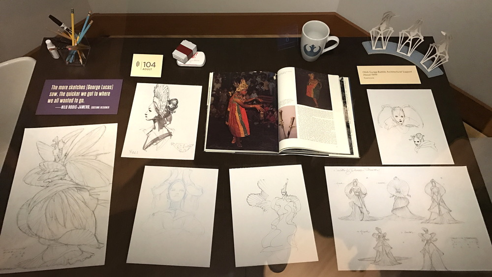 amidala dress costume wardrobe design desk