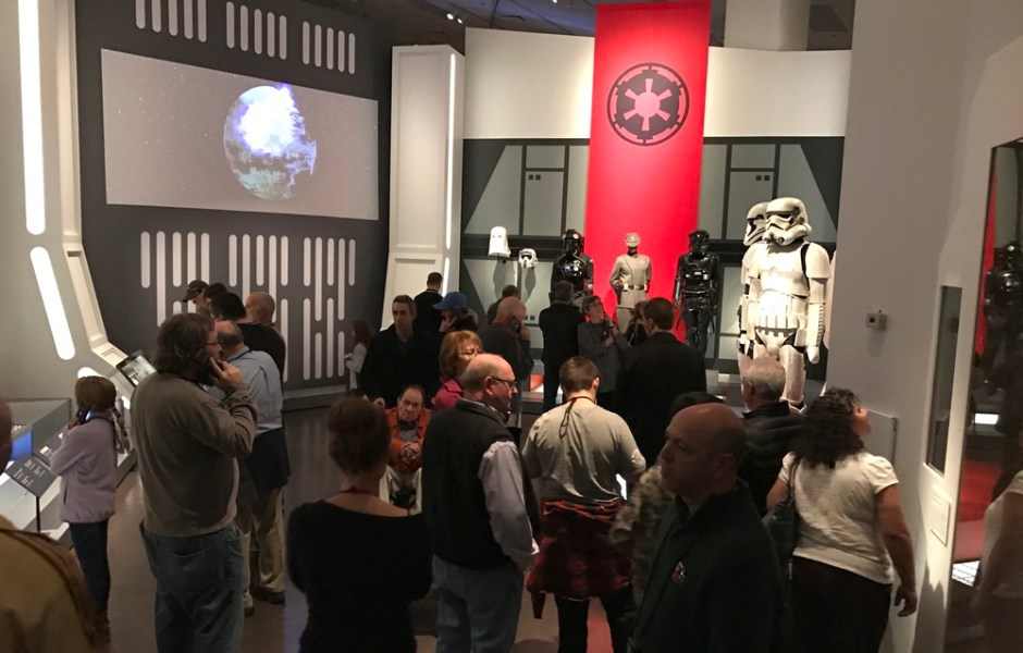 military costumes and set design, star wars