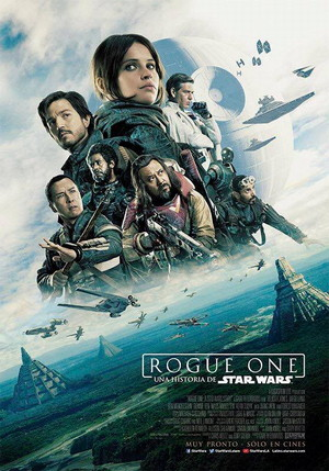 rogue one star wars story movie poster one sheet