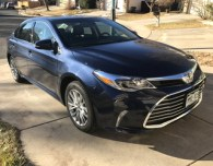 review test drive 2017 toyota avalon hybrid