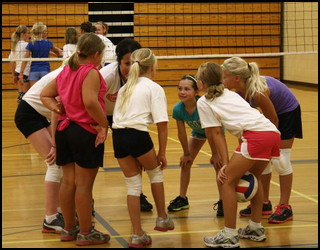 girls ymca volleyball team parenting parent coaches community